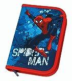 Scooli SPON0440 - Schüleretui Spiderman mit Stabilo