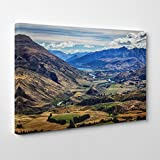 BIG Box Art Arty Pie Mountain New Zealand Scenery 5