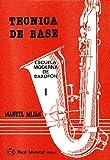 MIJAN - Tecnica de Base 1º para Saxofon