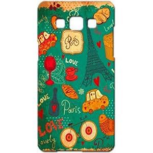 Crackndeal NTZ10 Back cover for Samsung Galaxy A5, (Multi-coloured)