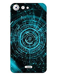 TREECASE Designer Printed Hard Back Case Cover For Micromax Canvas 4 A210