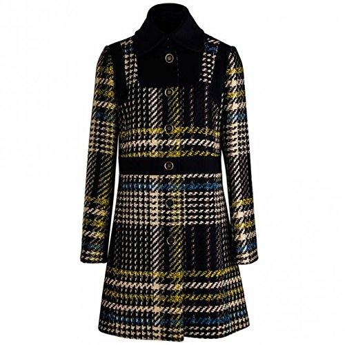 Cappotto lungo Patrizia Pepe misto lana lavorazione giro inglese - 44