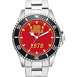 KIESENBERG® Watch - RED DEVILS 1878 - 6051