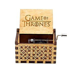 Reine Hand-Klassischen Musik-Box – Pirates of The Caribbean Thema Holz Musik Box, Hand-hölzerne Spieluhr Kreative Holz…