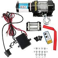 Yogasada Profesional 12V Torno eléctrico con el Levantamiento de Control Remoto Durable 3500LB Auto Honda Heavy