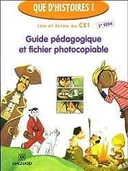 Lire et écrire au CE1 : Guide pédagogique et fichier photocopiable
