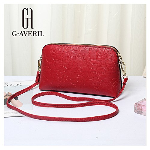 G-AVERIL, Borsa a mano donna blu navy Navy blue Red