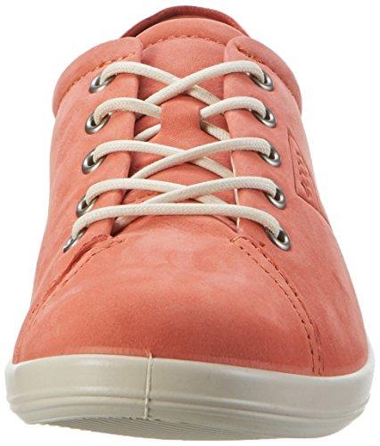 Ecco Soft 2.0, Derby Femme Orange (2259CORAL)