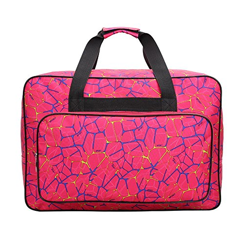 Bolsa para máquina de coser, bolsa de transporte universal de nailon,