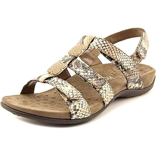 Vionic Paire Ambre–Femme Slide Sandale–Orthaheel Natural Snake