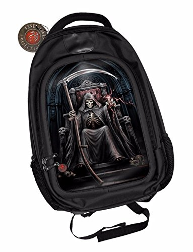Anne-Stokes-Official-3D-Unisex-Backpack-Time-Waits-For-No-Men-Padded-Laptop