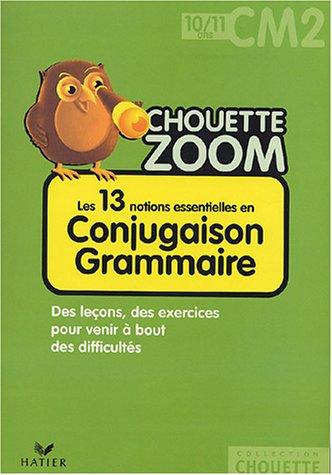 Conjugaison grammaire CM2 par Nadine Bonnet