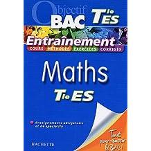 Maths Tle ES Enseignement obligatoire et de spécialité
