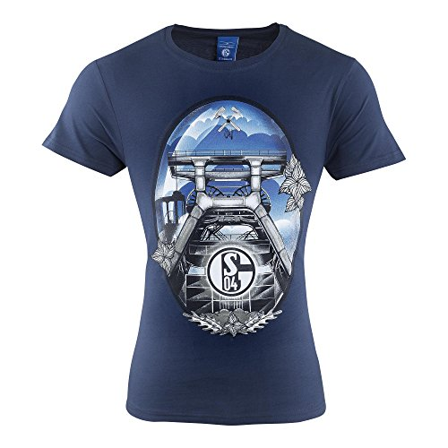 FC Schalke 04FC Gelsenkirchen de Schalke 04EV Camiseta de Castillete Tamaño L