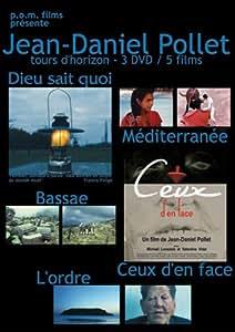 Jean-Daniel Pollet, tour d'horizon - 3 DVD / 5 films (Dieu sait quoi / Méditerranée / Bassae / Ceux d'en face / L'ordre)
