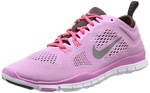 Nike Wmns Free 5.0 Tr Fit 4, Scarpe sportive, Donna, Multicolore (Lt Mgnt/Lght Ash/Dp Brgndy/Lgh), 37.5
