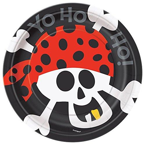 Piraten Teller - 17.1cm Piraten Party Teller,
