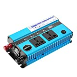 KKmoon 500W Auto-Wechselrichter DC 12V zu Wechselstrom 110V 60Hz mit 4...
