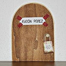 La auténtica puerta mágica del Ratoncito Perez ♥ con una pequeña bolsita (incluida de regalo) para dejar el diente. El Ratoncito Perez, vendrá a por tu diente y te dejará una monedita o alguna sorpresita. ♥ ♥