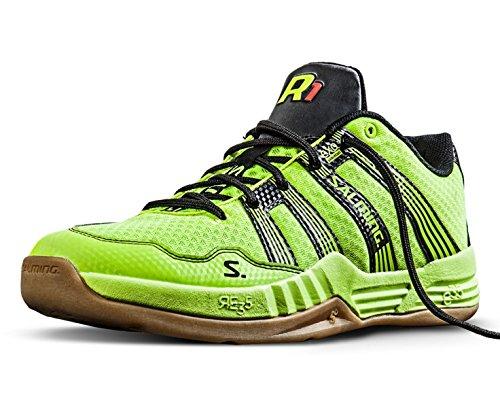 Salming , Chaussures de handball pour homme Jaune Jaune Jaune - Gelb (Safety Yellow)