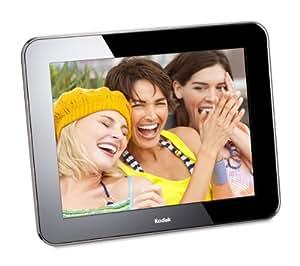 """Kodak W730S Pulse Cadre photo numérique 7"""" Écran tactile 4:3, 512 Mo de mémoire interne WiFi Enregistrement des photos par email Lecteur carte SD/SDHC/MMS/MS (Import Allemagne)"""