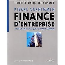 Finance d'entreprise : Théorie et pratique de la finance, 4e édition