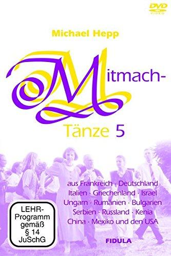 Mitmachtänze, 1 DVD