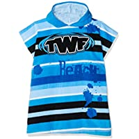 TWF niños toalla Poncho infantil, color rosa, Infantil, color azul, tamaño talla única