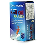 Cleanmarine krill oil for kids 60 tablets