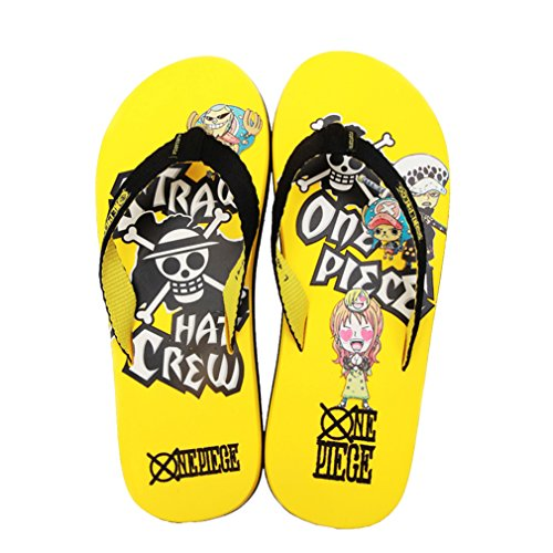 Bromeo One Piece Anime Unisexe Flip Flops Tongs 17