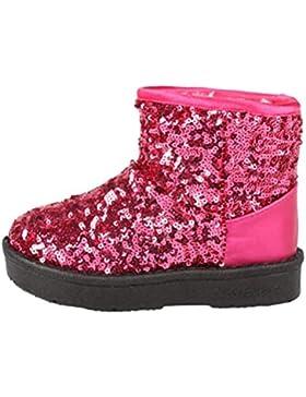 ❆HUHU833 Kinder Mode Mädchen Junge Baby Stiefel, Warme Watte Gepolsterten Schuhe Schnee Stiefel Warm Schuhe Casual...
