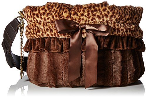 Pet Halle Cheetah wendbar Snuggle Bugs Pet Bett, Tasche und Autositz in Einem -