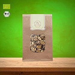 süssundclever.de® Feigen Bio | 1 kg | getrocknet, ungeschwefelt, ungezuckert | 100% hochwertiges Naturprodukt | plastikfrei und ökologisch-nachhaltig abgepackt | getrocknete Feigen