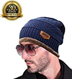 #10: Vbirds Imported Autumn Winter Cap Hat Beanie For Boys Men Wool Material With Fur Inside