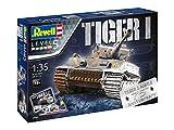 Revell 05790 - Modellbausatz Panzer 1:35 - Geschenkset 75 Jahre Tiger I im...