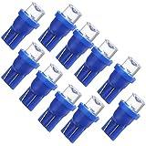 10x W5W ampoule veilleuse led 158 168 194 T10 2825 Bleu XENON plafonnier effet