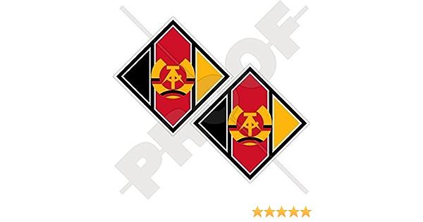 Osten Deutschland Luftwaffe Lsk Flugzeuge Rondell Luftstreitkräfte Der Nationalen Volksarmee Ddr Gdr Deutschland 75mm Auto Motorrad Aufkleber X2 Vinyl Stickers Garten