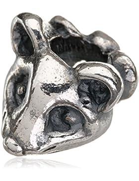 Trollbeads Damen-Bead Impulsive Maus 925 Silber - TAGBE-20060
