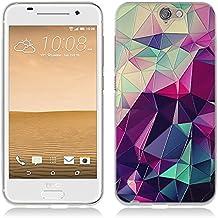 HTC One A9 Cover, Fubaoda Fantasia 3D Rilievo UltraSlim TPU Skin Cover Protettiva Shell Custodia per HTC One A9