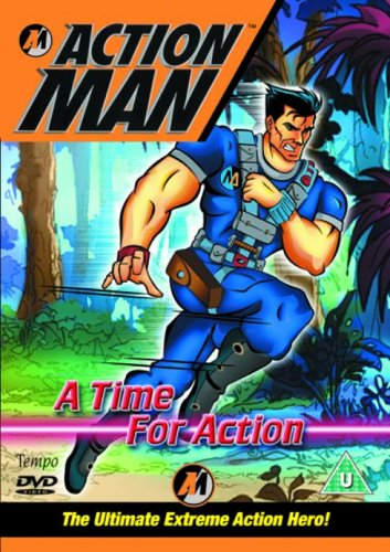 Image of Action Man - A Time For Action [DVD]