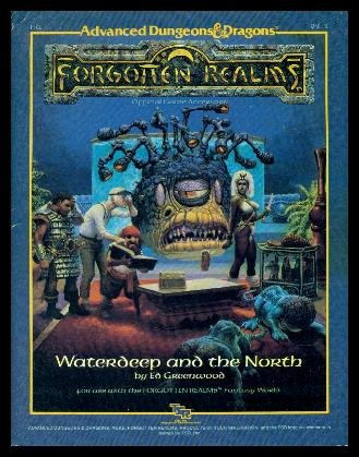 Waterdeep and the North (Advanced Dungeons & Dragons) por Ed Greenwood