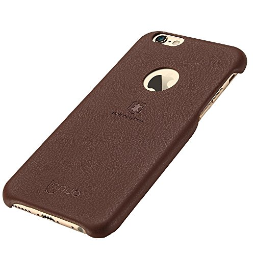 MXNET Fall für iPhone 6 & 6s Litchi Texture PU + PC Paste Haut Schutzhülle ,Iphone 6/6s Case ( Color : Brown ) Brown