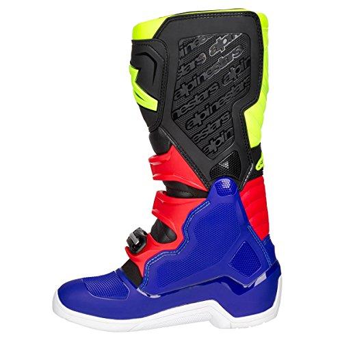 Alpinestars Motocross-Stiefel Tech 5 Blau Gr. 43 - 5