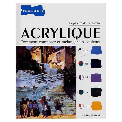 Acrylique : Comment composer et mélanger les couleurs