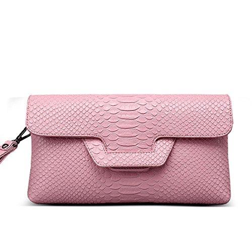 Signore Di Modo Di Svago Messenger Bag Multi-color Pink