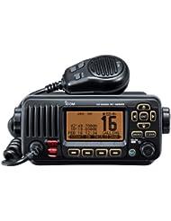 Icom M323 VHF/DSC Seefahrts-Funkgerät, Schwarz