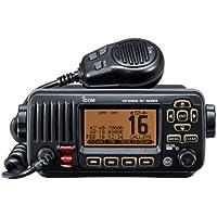 Icom  - Electrónica náutica ( resistente al agua, radio ) , color negro