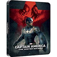 Captain America The Winter Soldier 3D Steelbook / Includes 2D Version. / Region Free Blu Ray.
