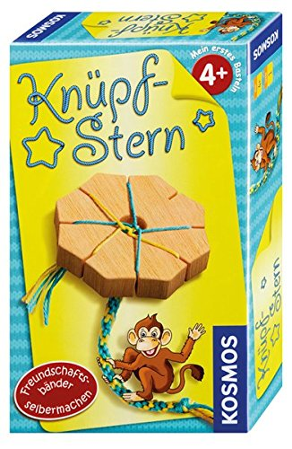 Kosmos 711214 Knüpfstern, Reisespiel, Kinderspiel