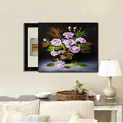 sbwylt-variety di astratto flower-style Meter box decorativo painting-bba, (Box Parati)